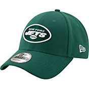 New Era Men's New York Jets 9Forty Green Adjustable Hat