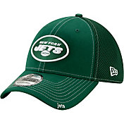 New Era Men's New York Jets Neo Flex Green Stretch Fit Hat