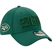 New Era Men's New York Jets Sideline Color Rush 39Thirty Stretch Fit Hat
