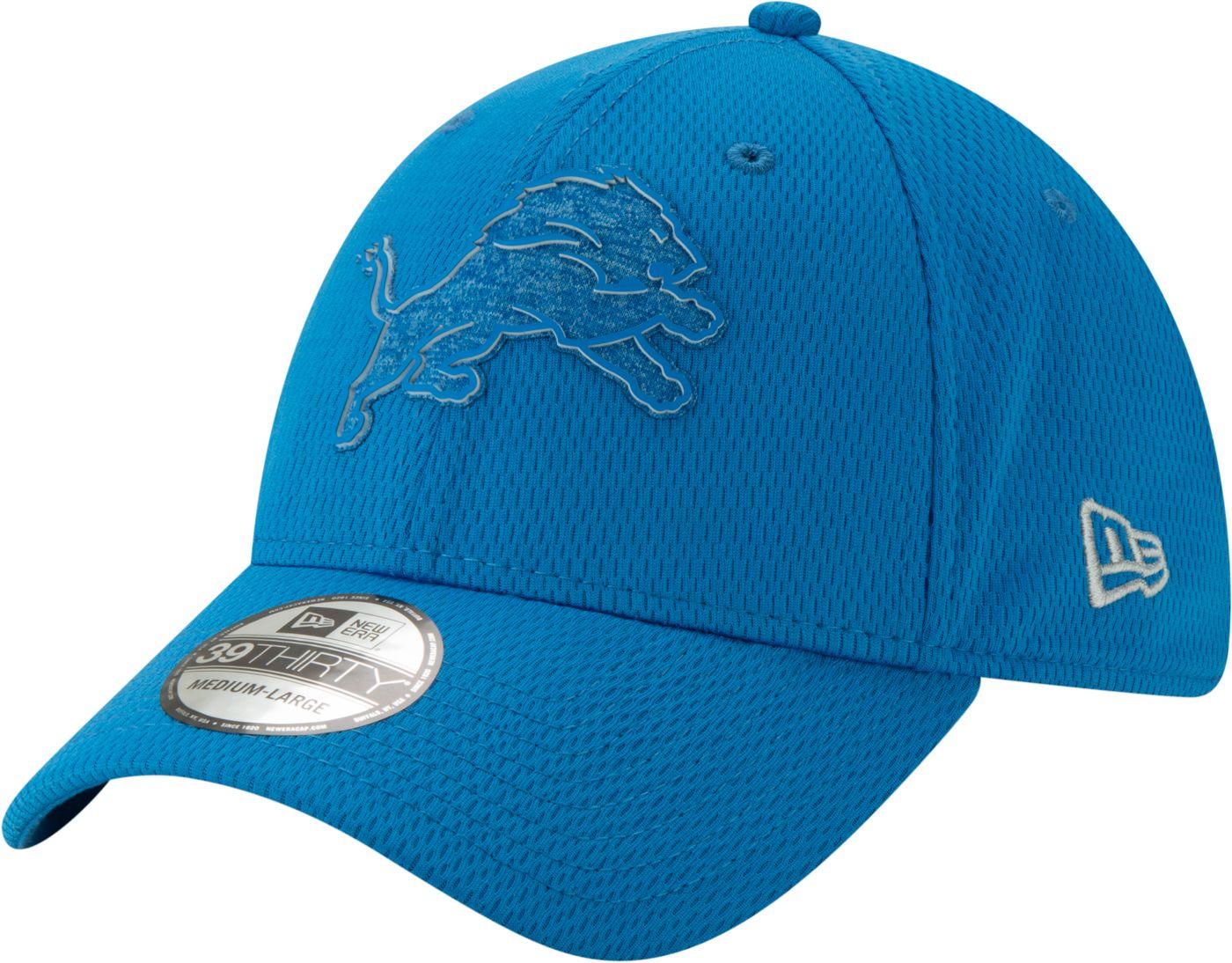 New Era Men's Detroit Lions Tonal Mold 39Thirty Stretch Fit Hat