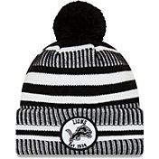 New Era Men's Detroit Lions Sideline Home Sport Pom Knit