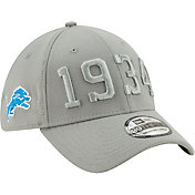 New Era Men's Detroit Lions Sideline Color Rush 39Thirty Stretch Fit Hat