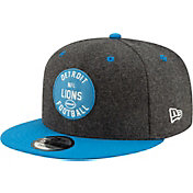 New Era Men's Detroit Lions Sideline Home 9Fifty Adjustable Hat