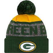 New Era Men's Green Bay Packers Green Pom Knit