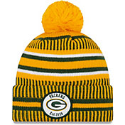 New Era Men's Green Bay Packers Sideline Home Sport Pom Knit