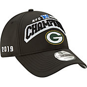 New Era Men's Green Bay Packers 2019 NFC North Division Champions 9Forty Adjustable Hat