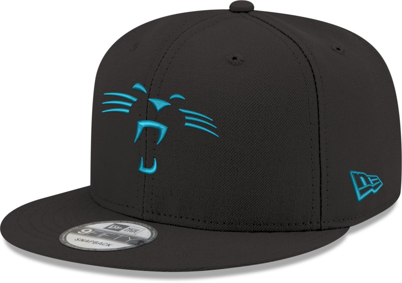 New Era Men's Carolina Panthers Elemental 9Fifty Adjustable Black Hat