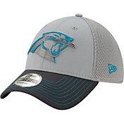 New Era Men's Carolina Panthers Neo Grey Stretch Fit Hat