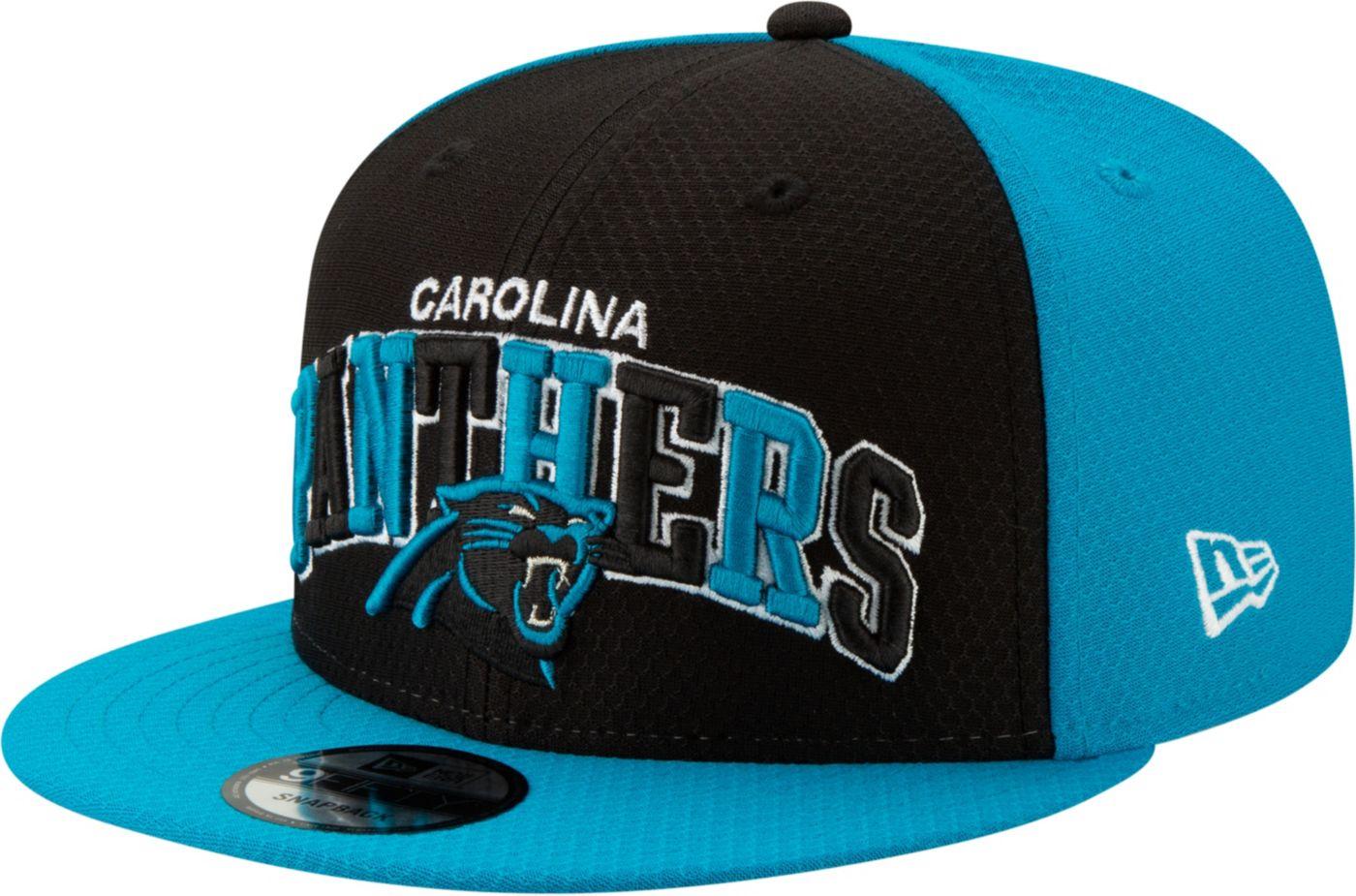 New Era Men's Carolina Panthers Sideline Home 9Fifty Adjustable Hat
