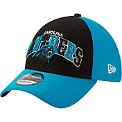 New Era Men's Carolina Panthers Sideline Home 39Thirty Stretch Fit Hat