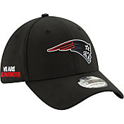 New Era Men's New England Patriots 2020 NFL Draft 39Thirty Stretch Fit Black Hat