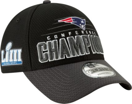 bf07fe663a6 New Era Men s AFC Conference Champions New England Patriots Locker Room  9Forty Hat