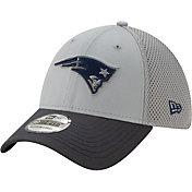 New Era Men's New England Patriots Neo Grey Stretch Fit Hat