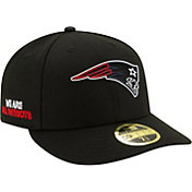 New Era Men's New England Patriots 2020 NFL Draft 59Fifty Fitted Black Hat