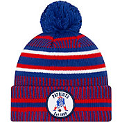 New Era Men's New England Patriots Sideline Home Sport Pom Knit