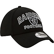 New Era Men's Las Vegas Raiders 2020 NFL Draft Alternate 39Thirty Stretch Fit Black Hat