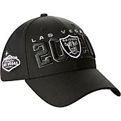 New Era Men's Las Vegas Raiders 2020 NFL Draft 39Thirty Stretch Fit Black Hat