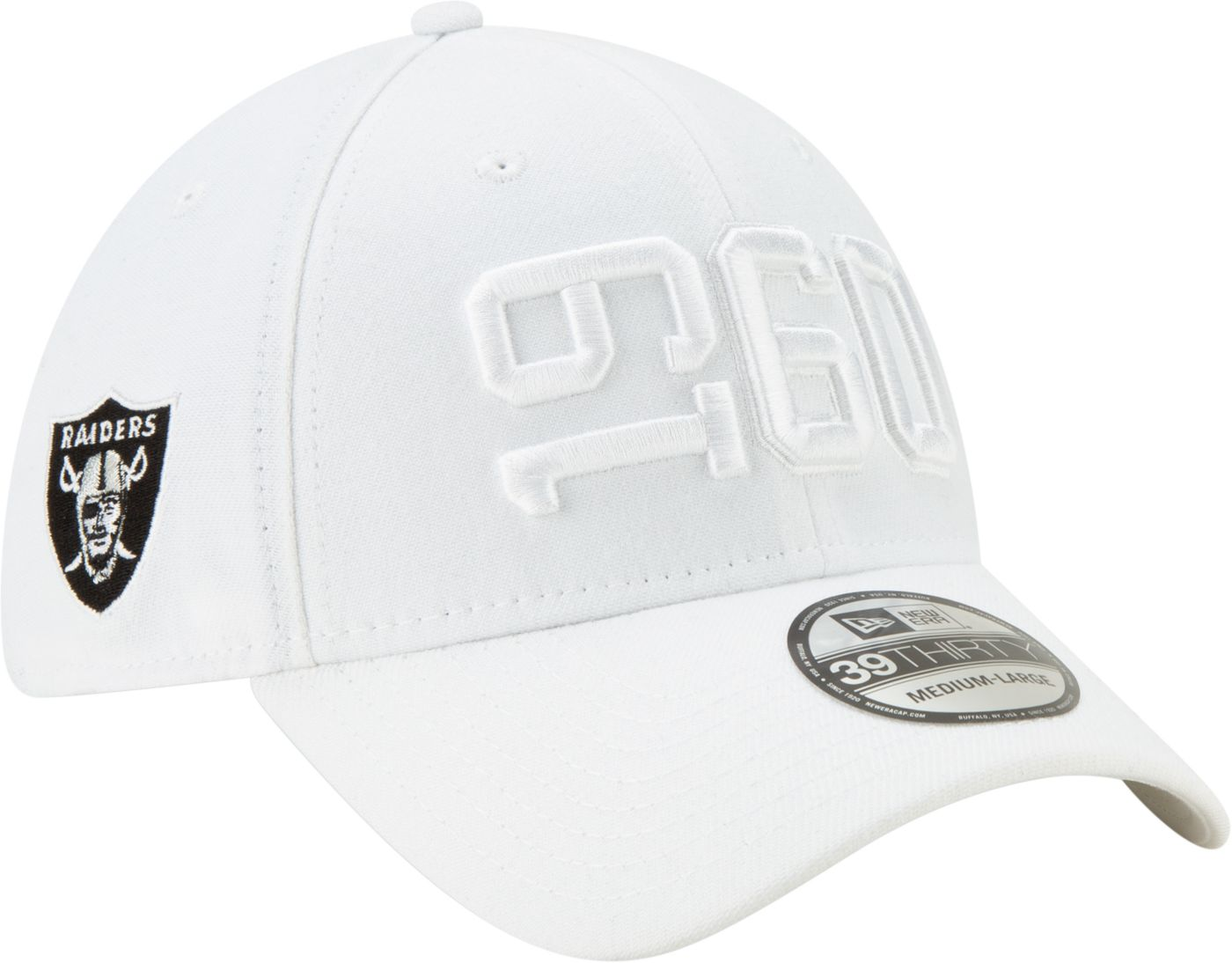 New Era Men's Oakland Raiders Sideline Color Rush 39Thirty Stretch Fit Hat