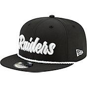 New Era Men's Oakland Raiders Sideline Home 9Fifty Adjustable Hat
