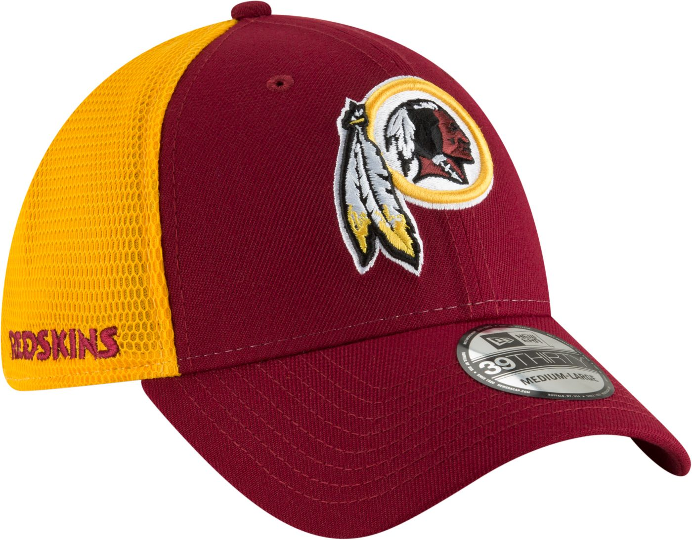 New Era Men's Washington Redskins 2Tone Sided 39Thirty Stretch Fit Hat