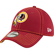 New Era Men's Washington Redskins Sideline Road 39Thirty Stretch Fit Hat