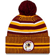 New Era Men's Washington Redskins Sideline Home Sport Pom Knit