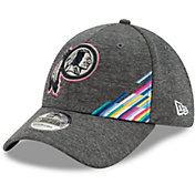New Era Men's Washington Redskins Sideline Crucial Catch 39Thirty Graphite Stretch Fit Hat