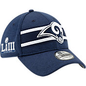 New Era Men's Super Bowl LIII Patch Los Angeles Rams 39Thirty Hat