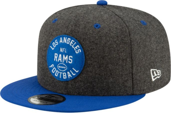 the latest 44298 4edf9 New Era Men's Los Angeles Rams Sideline Home 9Fifty Adjustable Hat
