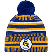 New Era Men's Los Angeles Rams Sideline Home Sport Pom Knit
