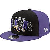 New Era Men's Baltimore Ravens Sideline Home 9Fifty Adjustable Hat