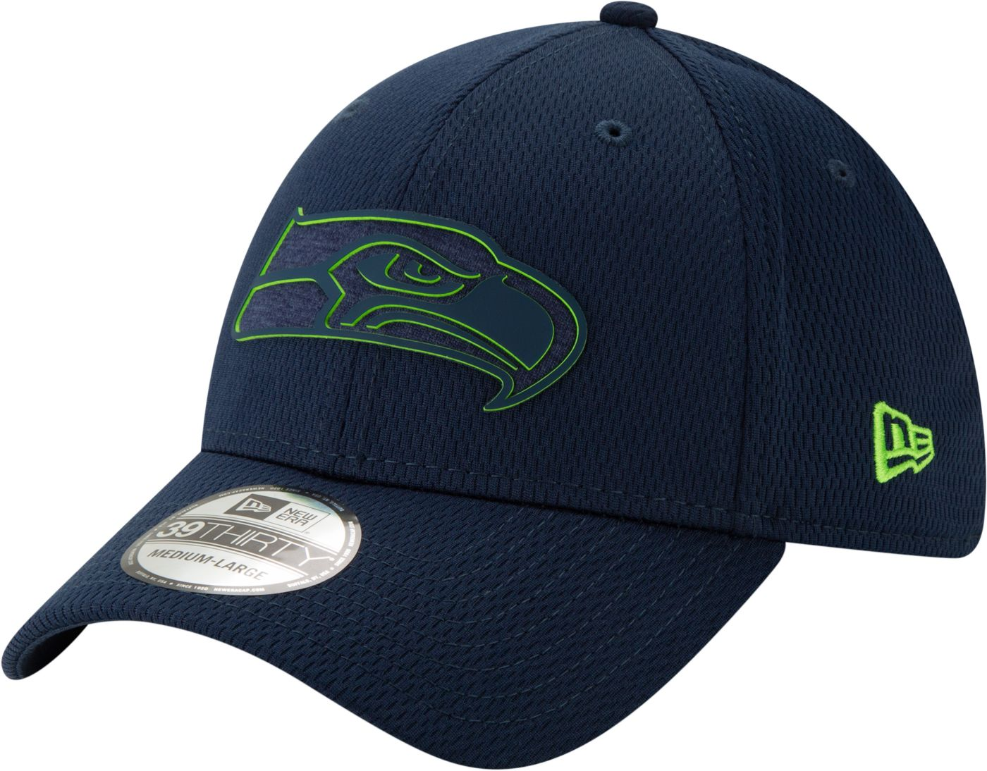 New Era Men's Seattle Seahawks Tonal Mold 39Thirty Stretch Fit Hat