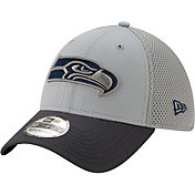 New Era Men's Seattle Seahawks Neo Grey Stretch Fit Hat