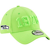 New Era Men's Seattle Seahawks Sideline Color Rush 39Thirty Stretch Fit Hat
