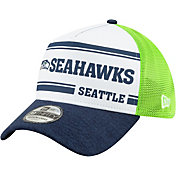 New Era Men's Seattle Seahawks Sideline Home 39Thirty Stretch Fit Hat