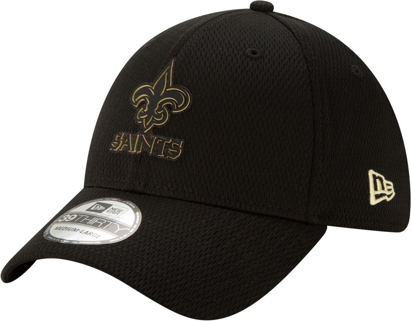 New Era Men's New Orleans Saints Tonal Mold 39Thirty Stretch Fit Hat