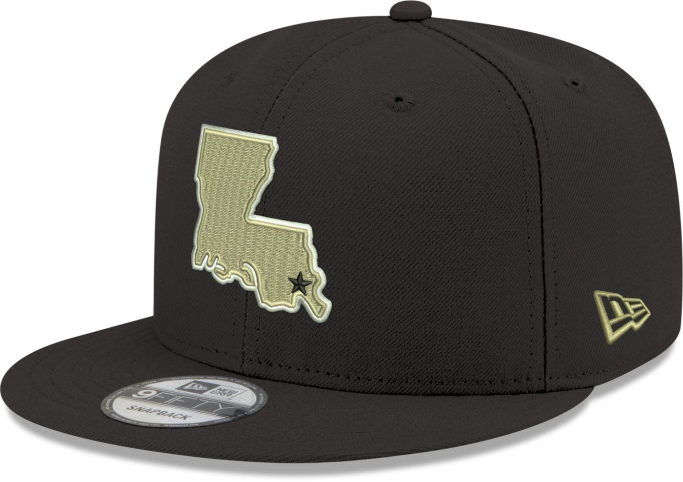 New Era Men's New Orleans Saints Elemental 9Fifty Adjustable Black Hat