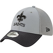 New Era Men's New Orleans Saints Neo Grey Stretch Fit Hat