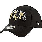 New Era Men's New Orleans Saints Sideline Home 39Thirty Stretch Fit Hat