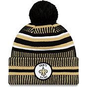 New Era Men's New Orleans Saints Sideline Home Sport Pom Knit