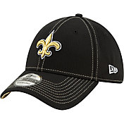 New Era Men's New Orleans Saints Sideline Road 39Thirty Stretch Fit Hat