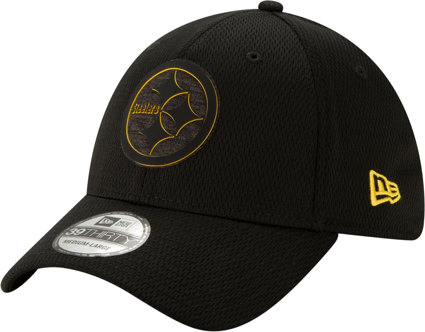 New Era Men's Pittsburgh Steelers Tonal Mold 39Thirty Stretch Fit Hat