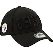 New Era Men's Pittsburgh Steelers Sideline Color Rush 39Thirty Stretch Fit Hat