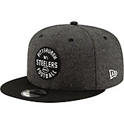New Era Men's Pittsburgh Steelers Sideline Home 9Fifty Adjustable Hat