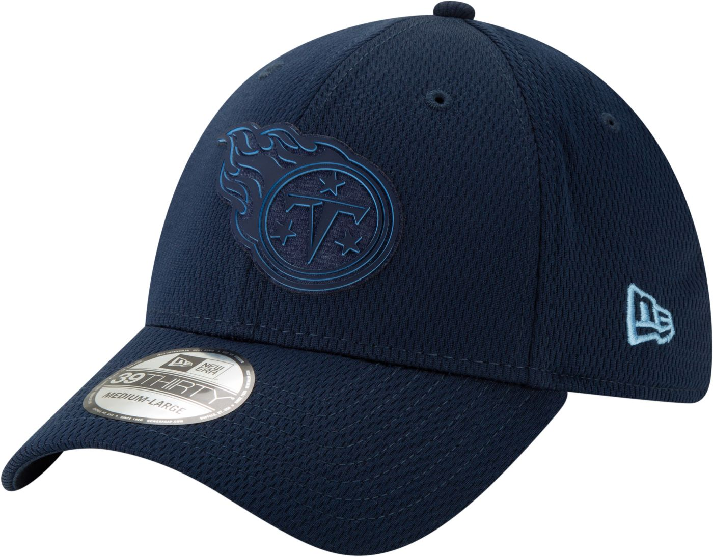 New Era Men's Tennessee Titans Tonal Mold 39Thirty Stretch Fit Hat