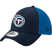 New Era Men's Tennessee Titans 2Tone Sided 39Thirty Stretch Fit Hat