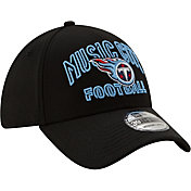 New Era Men's Tennessee Titans 2020 NFL Draft Alternate 39Thirty Stretch Fit Black Hat