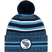 New Era Men's Tennesee Titans Sideline Home Sport Pom Knit