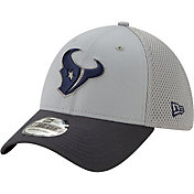 New Era Men's Houston Texans Neo Grey Stretch Fit Hat