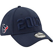 New Era Men's Houston Texans Sideline Color Rush 39Thirty Stretch Fit Hat